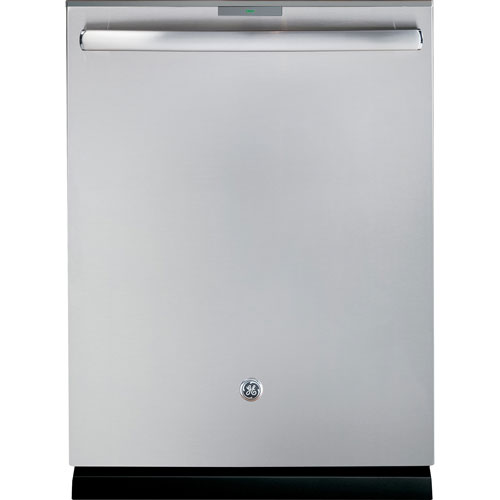 Lave-vaisselle encastrable de 23,8 po à grande capacité de GE (PDT760SSFSS) - Acier inoxydable