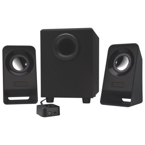 Logitech Z213 Multimedia Speakers with Subwoofer - Black