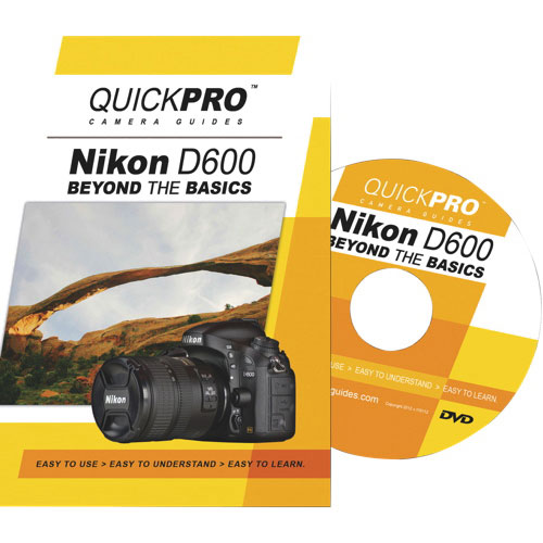 Quickpro Nikon D600 Beyond the Basics Camera Guide - English