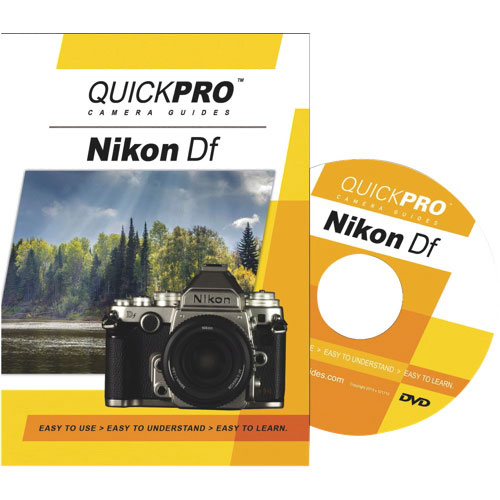 Quickpro Nikon Df Camera Guide - English