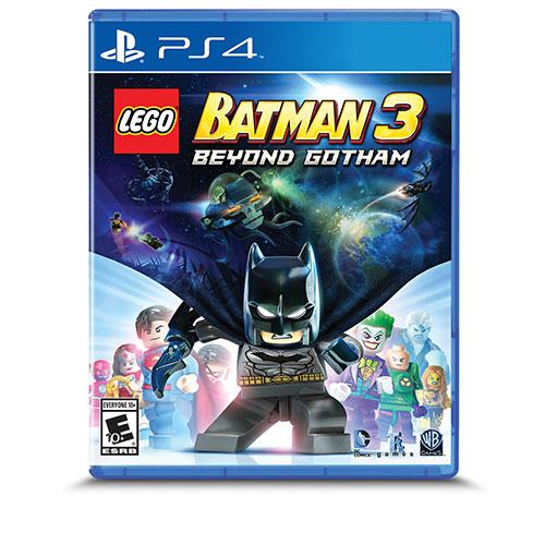 LEGO Batman 3: Beyond Gotham (PS4) - Jeu usagé