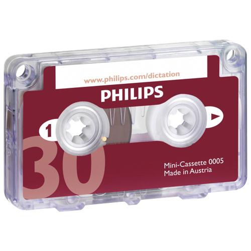 Philips Dictation Mini Cassette Tape 30 minutes (LFH0005/60)