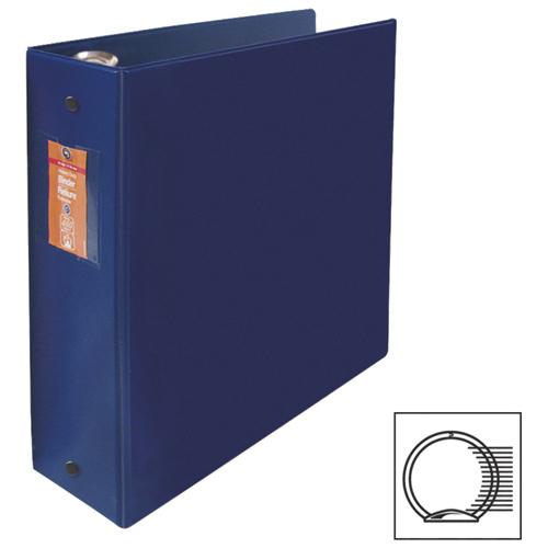 Cartable à anneaux ronds de 3 po Acco de Wilson Jones (WLJ13569) - Bleu foncé