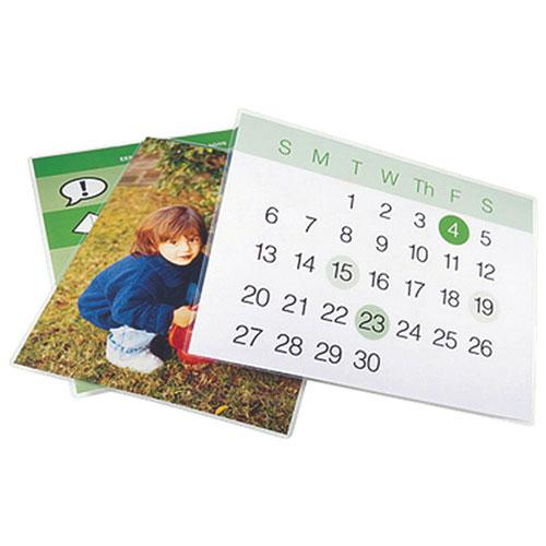 Pochettes de plastification autoadhésives 9 x 12 po Swingline (SWI05055) - Paquet 50 - Transparent