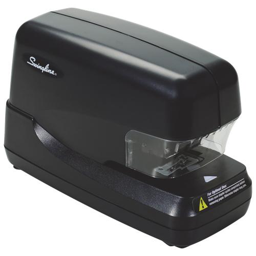 Agrafeuse électronique grande capacité rivetage à plat de Swingline (SWI69270) - 70 feuilles - Noir