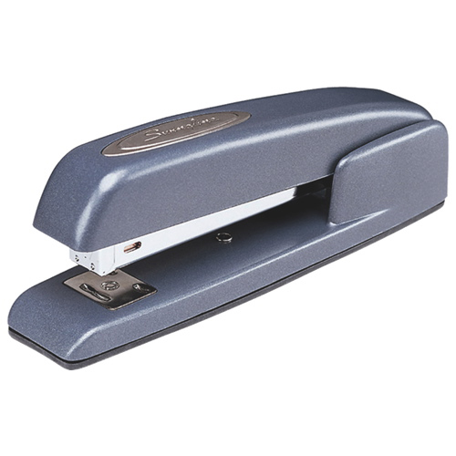 Swingline Ergonomic Business Stapler (SWI74742) - 20 Sheets - Gunmetal Blue