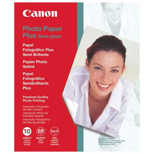 Papier photo semi-lustré de Canon - 10 feuilles de 14 x 17 po