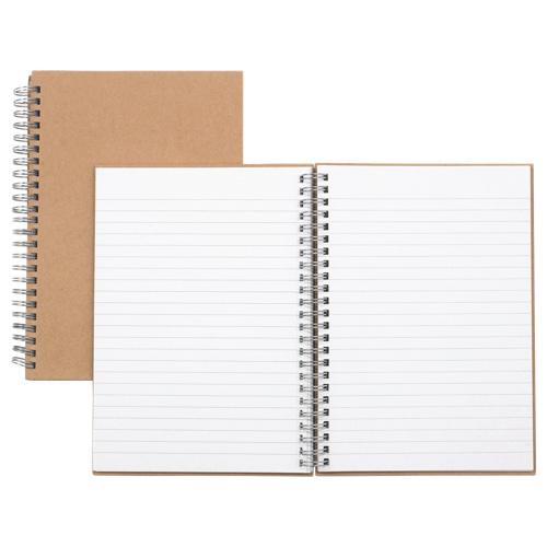 Nature Saver Hardcover Notebook (NAT20205) - White