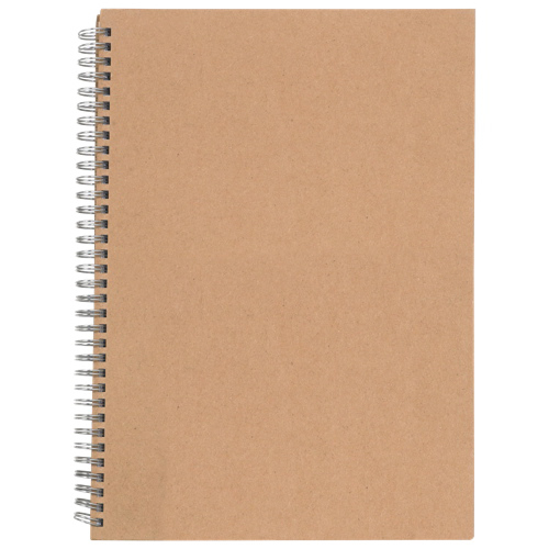 Cahier couverture rigide de Nature Saver (NAT20206) - Blanc