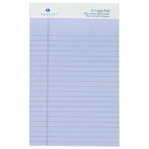 Sparco Coloured Jr. Legal Note Pad (SPR01072) - Orchid
