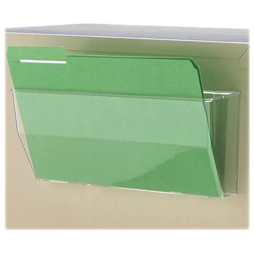 Deflect-o Oversized Magnetic Portable File Pocket (DEF50101) - Clear