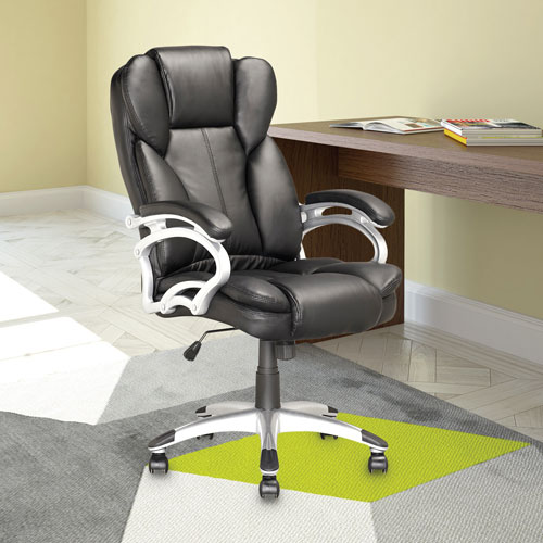 corliving workspace leatherette manager executive chair black office chairs best buy canada
