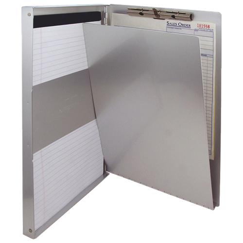 Saunders Snapak Storage Clipboard - Silver