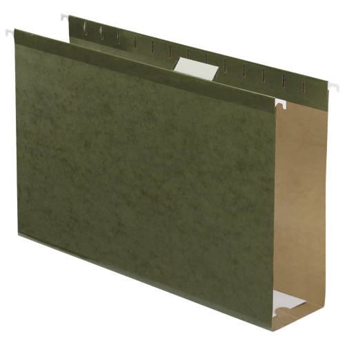 "Esselte 3"" Legal-Sized Hanging Folders (ESS04153X3) - Green"