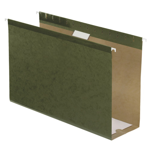 "Esselte 4"" Legal-Sized Hanging Folders (ESS04153X3) - Green"