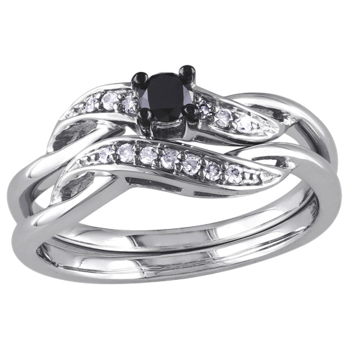 bague et jonc de mariage modernes en argent sterling avec. Black Bedroom Furniture Sets. Home Design Ideas