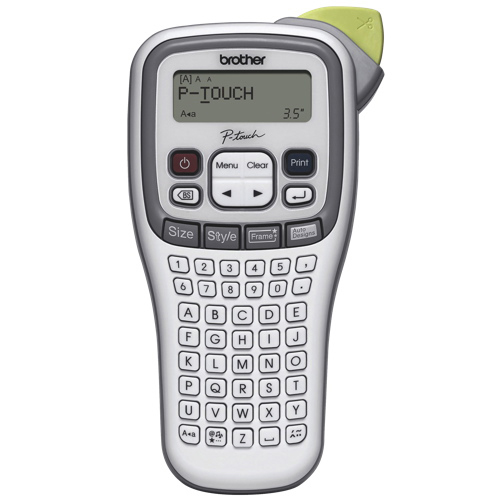 Brother P-Touch Handheld Label Maker (PT-H100) - White