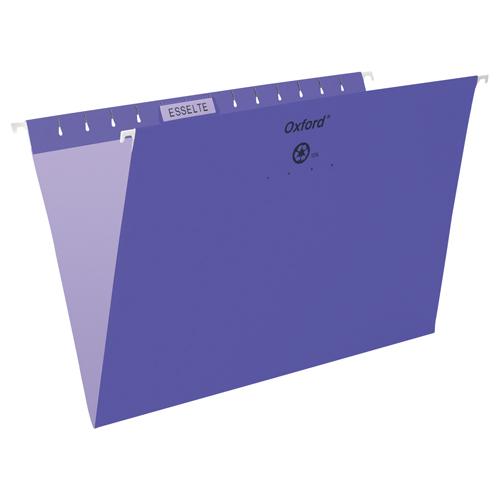 Esselte Oxford Hanging File Folder (ESS91842) - Legal - Violet