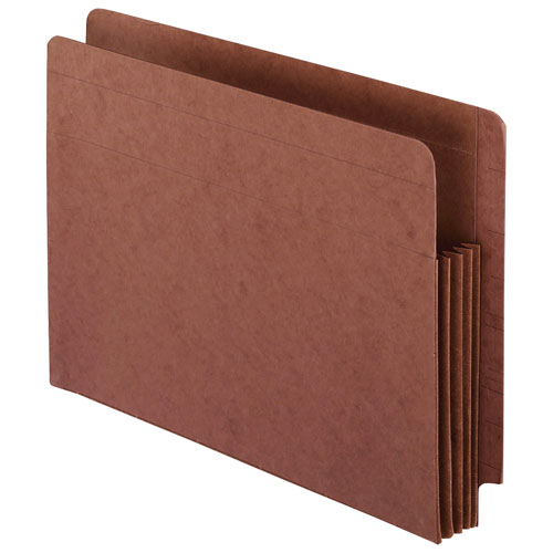 Esselte Expanding File Pockets (ESS95343) - Letter - 10 Pack - Red