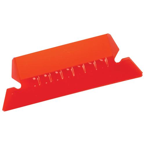 "Esselte 2"" Hanging File Folder Tab (ESS97211) - 25 Pack - Red"