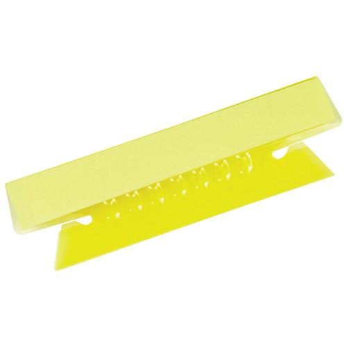 "Esselte 3-1/2"" Hanging File Folder Tab (ESS97309) - 25 Pack - Yellow"