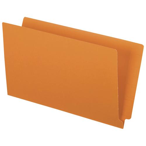 Esselte End Tab File Folder (ESSH210DOR) - Legal - 50 Pack - Orange