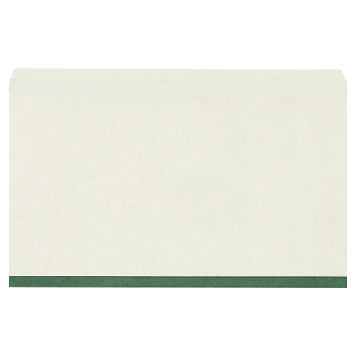 Esselte Straight Cut Pressboard Folder (ESSP621-S) - Legal - 50 Pack - Green