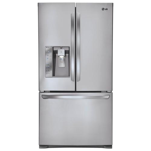 "LG 35.75"" 24 Cu. Ft. French Door Refrigerator (LFXC24726S) - Stainless Steel"