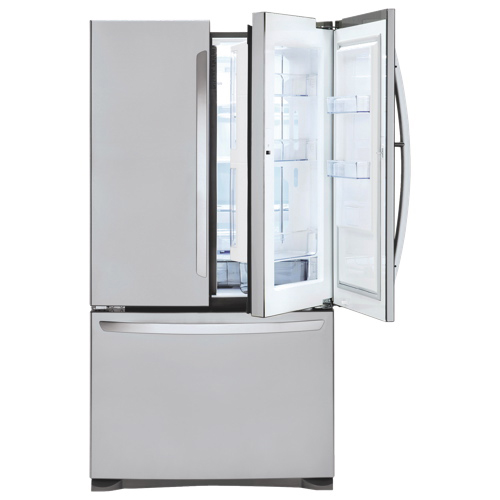 counter refrigerators cabinet lg french appliances refrigerator depth door