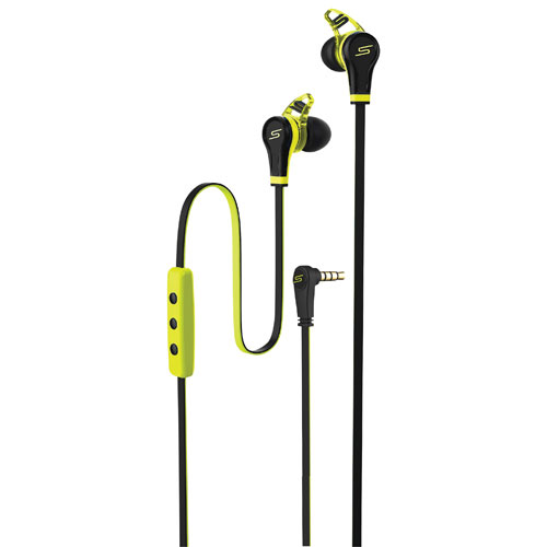 SMS Audio STREET By 50 In-Ear Sound Isolating Headphones (SMS-EB-SPRT-YLW) - Yellow
