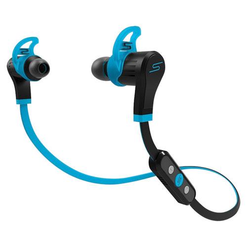 SMS Audio SYNC By 50 In-Ear Wireless Sound Isolating Sport Headphones (SMS-EBBT-SPRT-BLU) - Blue
