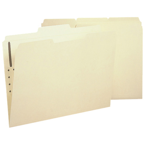 Sparco Fastener Folder (SPRSP17212) - Letter - 50 Pack - Manila