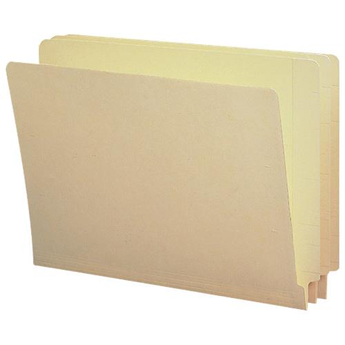 Sparco End-Tab Folder (SPRSP17238) - Letter - 100 Pack - Manila