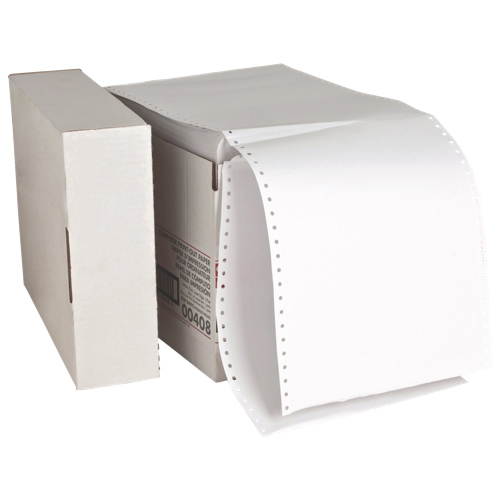 "Sparco 5000-Sheet 8.5"" x 11"" Continuous Computer Paper (SPR00408)"