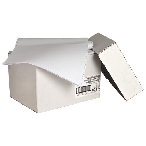 Papier continu 2400 feuilles 13,8 x 11 po de Sparco (SPR02174)