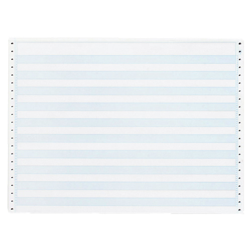 "Sparco 2400-Sheet 8.5"" x 11"" Blue-Bar Continuous Computer Paper (SPR02180)"