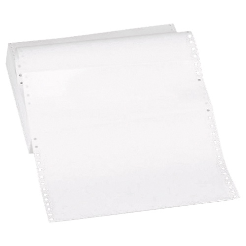 "Sparco 2600-Sheet 8.5"" x 11"" Green-Bar Continuous Computer Paper (SPR61291)"