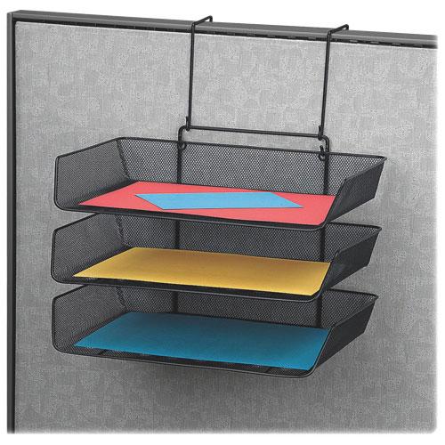 "Fellowes 11.1"" x 14.8"" Triple Side-Loading Trays - Black"