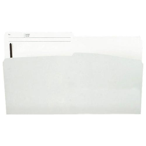"Esselte 8.5"" x 11"" File Folders - Ivory"