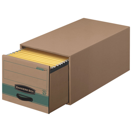 "Fellowes 10.4"" x 9.3"" Bankers Box Stor/Drawer File - Green"