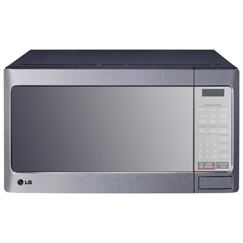 LG Countertop Microwave - 1.1 Cu. Ft. - Stainless Steel