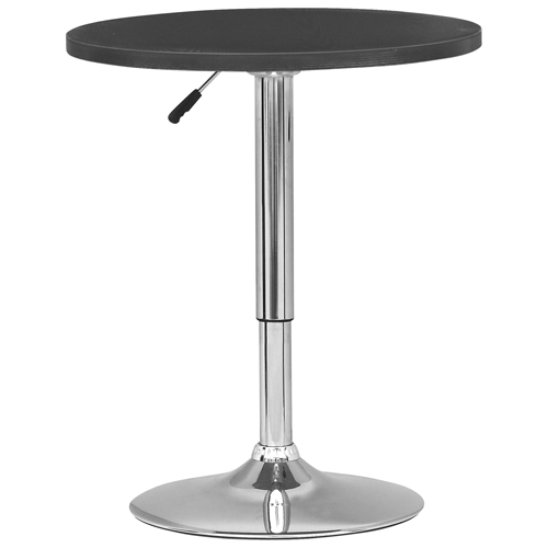 table de bar ronde de style contemporain noir tables de bar best buy canada. Black Bedroom Furniture Sets. Home Design Ideas