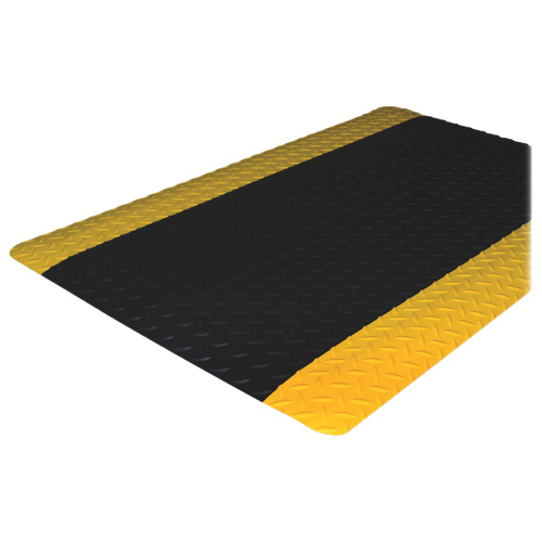 "Genuine Joe 36"" x 24"" Anti-Fatigue Floor Mat (GJO70363) - Black"