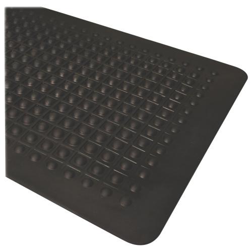 "Genuine Joe 60"" x 36"" Rubber Floor Mat (GJO70373) - Black"