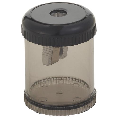 Integra Oval Pencil Sharpener (ITA42851) - Smoke