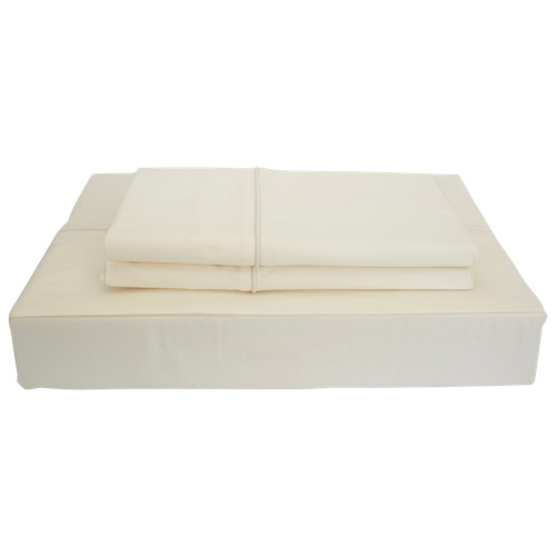 Maholi Duncan Collection 620 Thread Count Egyptian Cotton Sheet Set - Single/Twin - Ivory