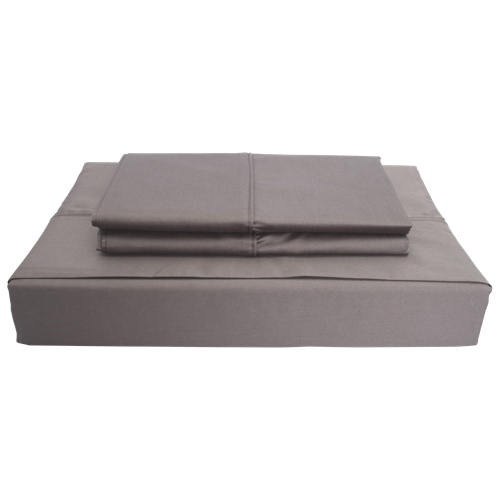 Maholi Duncan Collection 620 Thread Count Egyptian Cotton Sheet Set - Double/Full - Grey