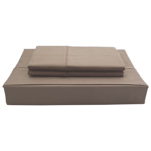 Maholi Duncan Collection 620 Thread Count Egyptian Cotton Sheet Set - Double/Full - Cocoa