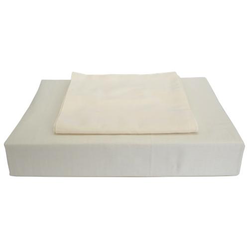 ens housse de couette en coton gyptien contexture 620 duncan de maholi grand lit ivoire. Black Bedroom Furniture Sets. Home Design Ideas