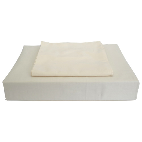 Maholi Duncan Collection 620 Thread Count Egyptian Cotton Duvet Cover Set - King - Ivory